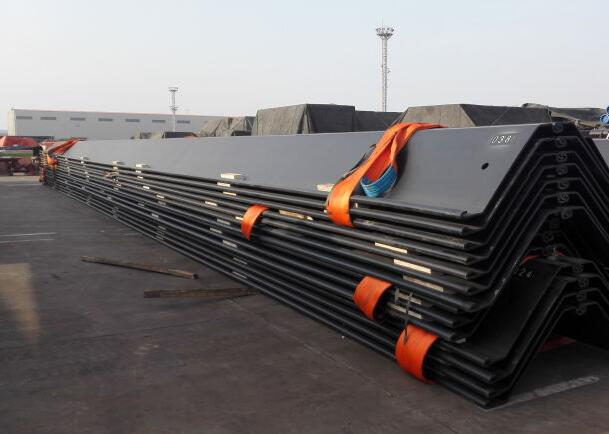 12 meters long SP-V Larsen steel sheet pile