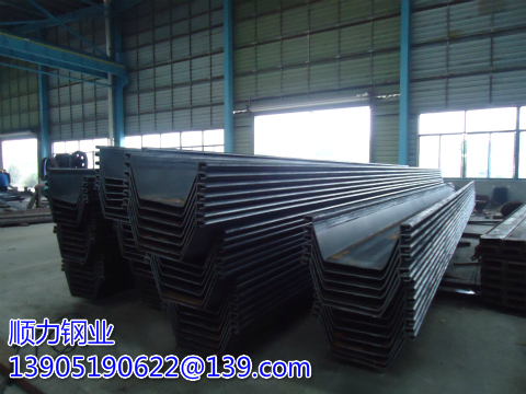 What are the requirements for mechanical operation of Larsen steel sheet piles