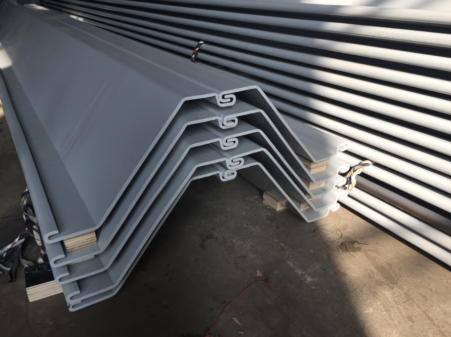 steel sheet pile Type III