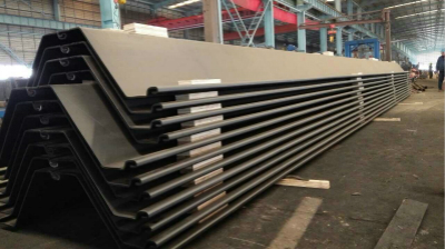 Permanent Quay Wall Z Type Steel Sheet Piling From China