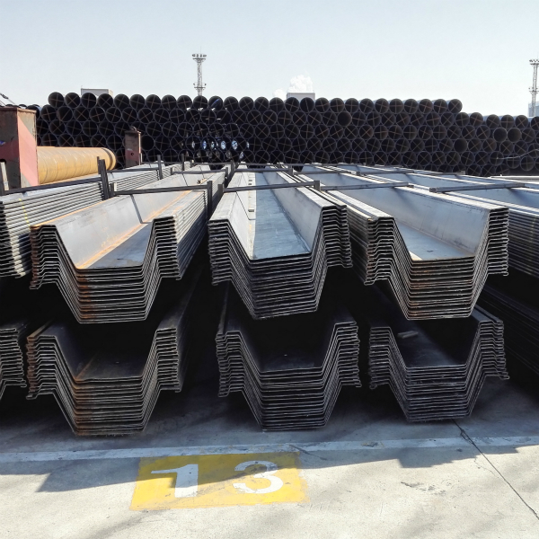 Water-resistant Iron Quay Wall Omega Sheet Piling