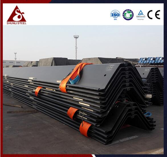Advantages of cold-formed steel sheet piles which