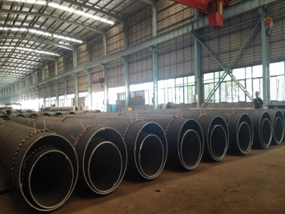 The Production Process of Steel Pipe Piles