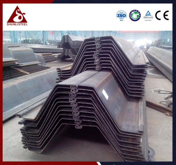 Sheet piling uk and australia best sale Z pile sheeting