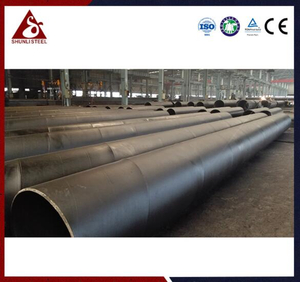 Anchored Waterproof SSAW/SAWH Steel Pipe Piling