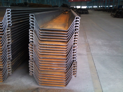Permanent Standard Cold-formed U Sheet Piling