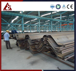 Waterproof Cold-formed Z Steel Sheet Pile