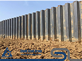 Application scope and construction characteristics of steel sheet piles
